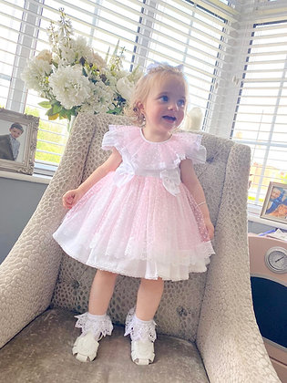 Wee me  - Pretty Pink Puffball Dress