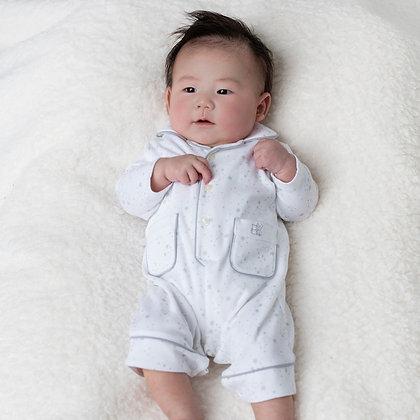 Emile Et Rose- Unisex Grey Star Print Pyjamas