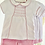 Thumbnail: Baby Girl Pink Smock Shorts and top set