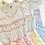 Thumbnail: Caramelo kids  - Girls Gingham Smocked Shorts Set - Lemon