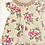 Thumbnail: Baby Girls Rose Dress Set