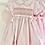 Thumbnail: Hand smocked Pink Dress