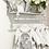Thumbnail: Baby Girls Grey Romper set