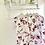 Thumbnail: Girls Floral Frill Lougewear set - DUSKY PINK