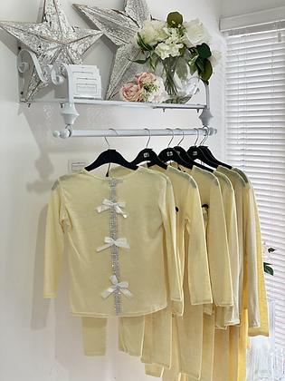 Girls Loungewear Set 2y-14yrs - LEMON