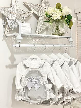 Baby Girls Grey Romper set