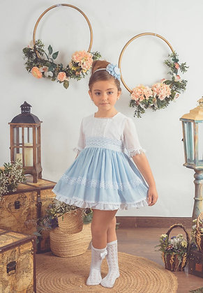 Lolattes - SS21 Pre Order Emily-f Dress Available in BLUE or PINK