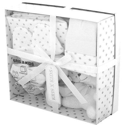White/Grey Star 7 Piece Gift Set