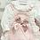 Thumbnail: Baby Girls Pink Romper set