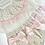Thumbnail: Girls Smock Pink / Beige / Camel Jam pant set