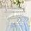 Thumbnail: Dress Set- WHITE LACE /BLUE
