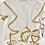 Thumbnail: Girl Camel Lace Detail Blouse & Bloomer Set