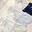 Thumbnail: Baby Boys Smock Shorts set - BLUE
