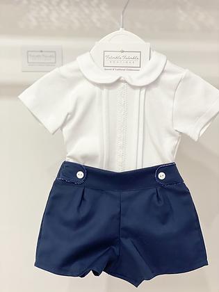 Boys Shorts Set - NAVY