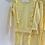 Thumbnail: Girls frill Loungewear Set 2y-14yrs - LEMON