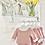 Thumbnail: Baby Girls Knit jam pant Set - DUSKY PINK