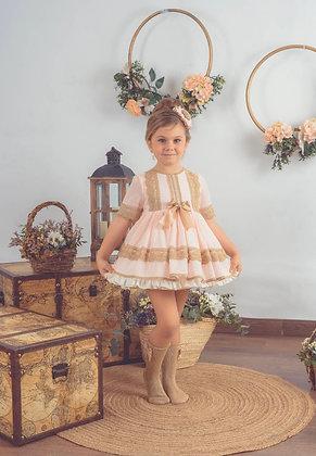 Lolattes - SS21 Pre Order Jaqueline-v Dress Pink