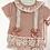 Thumbnail: Baby Girls Floral Jam Pant set  - DUSKY PINK