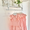 Thumbnail: Girls Peachy Pink Dress