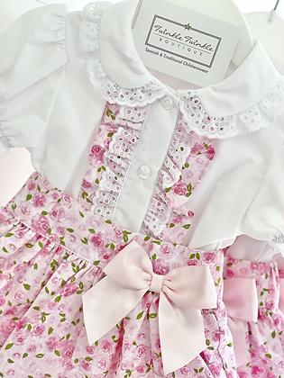 Girls 2 Piece Skirts & Blouse Set 12m-4yrs