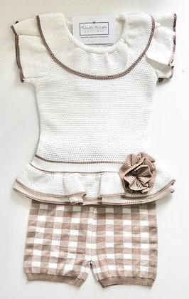 Girls summer Knit Set