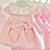 Thumbnail: Baby Girls Classy Bow Dress  - Baby Pink
