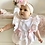 Thumbnail: Wee Me - Baby Girls Frill Pink Romper