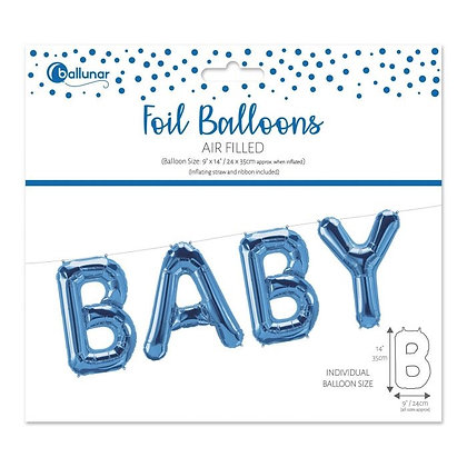 Baby Foil Balloons -  BLUE
