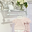 Thumbnail: Baby Girls Frill Neck jam pant set with with Bows - PINK