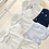 Thumbnail: Baby Boys Smock Shorts set - NAVY