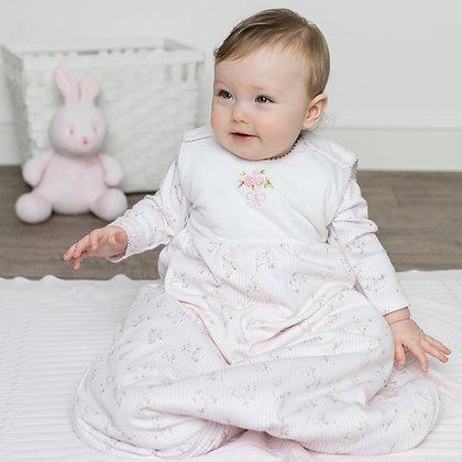 Emile Et Rose-Pink Floral Print Baby Sleeping Bag