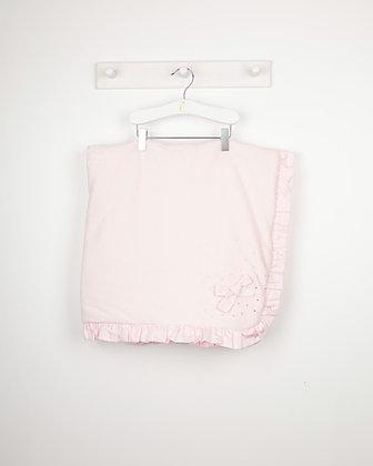 Caramelo - Velour Diamonte Padded Blanket - PINK