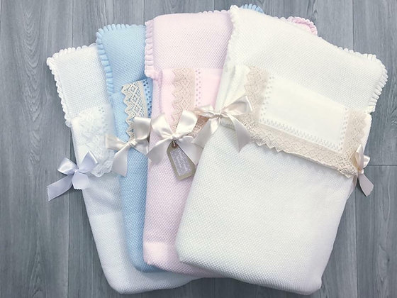 Spanish Knitted Baby Nest - All Colours