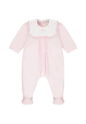 Emile et Rose - Willa Pink Bib Babygrow