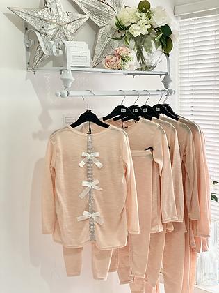 Girls Loungewear Set 2y-14yrs - PINK
