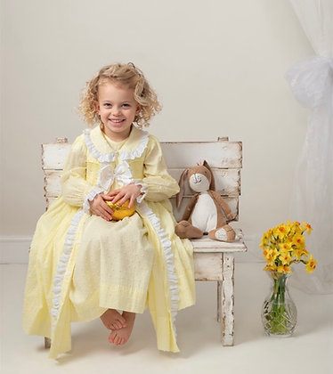 Caramelo Kids - Smocked Night Gown & Robe set