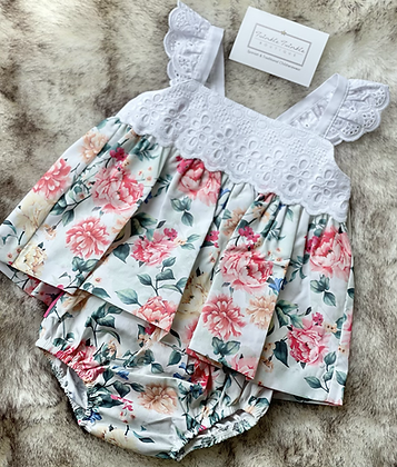Baby Girls  Floral Set