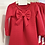 Thumbnail: Girls Bow Dress 2y-12y - RED