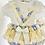 Thumbnail: Baby Girls Frill Trim Romper set