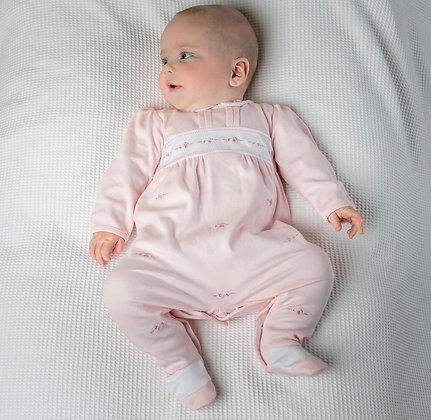 Emile et Rose - Weylynn Embrioded Panel Babygrow
