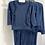 Thumbnail: Girls frill Loungewear Set 2y-14yrs - NAVY