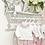 Thumbnail: Baby Girls pink Rose Jam Pant Set
