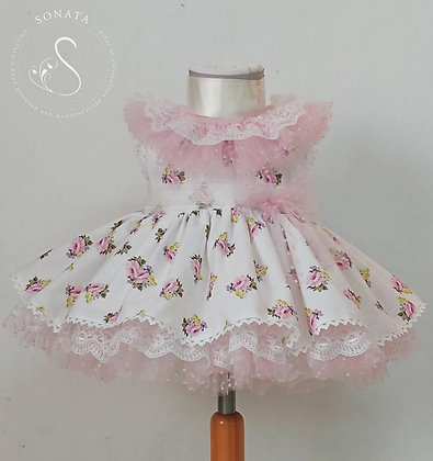 Sonata - Puffball Rose Dress 517