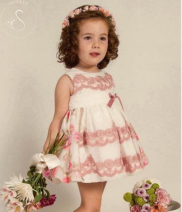 Sonata - Rose lace Puffball Dress 303