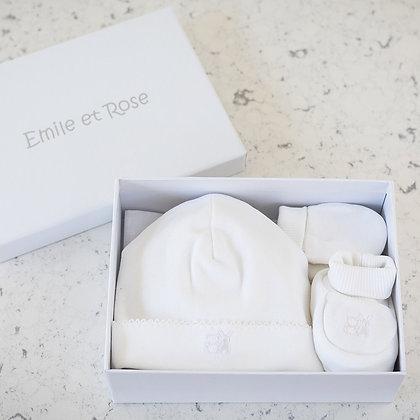 Emile et Rose - Gift Set WHITE