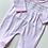 Thumbnail: Baby Girls Embroidered  Smock Babygrow - PINK