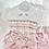 Thumbnail: Smocked Jam Pant skirted  set - Dusky Pink