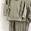 Thumbnail: Girls frill Loungewear Set 2y-14yrs - KHAKI