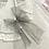 Thumbnail: Del Sur - Girls White & Grey  Dress