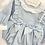 Thumbnail: Baby Blue Bow Romper